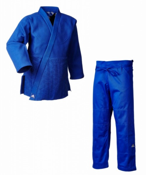 "ADIDAS Judoanzug Judo Gi J990 ""Millennium"" blau"
